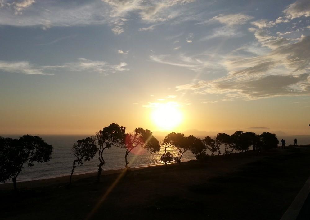 Закат в Лиме